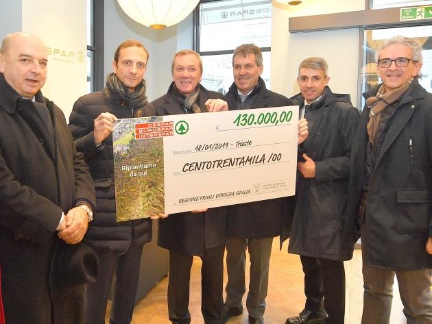 Emergenza maltempo in Friuli Venezia Giulia: abbiamo donato 130.000 euro !