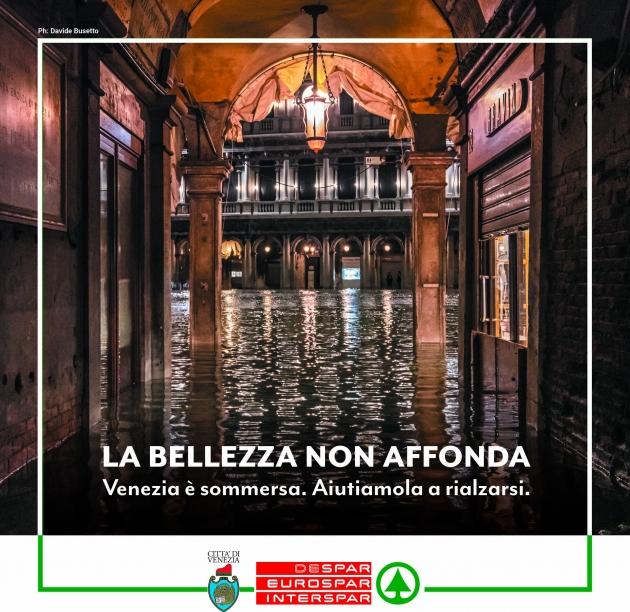 Il dramma di Venezia: Despar attiva una raccolta fondi per sostenere la città e la popolazione