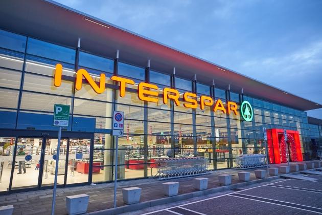 L'insegna Interspar è certificata ISO 14001 !