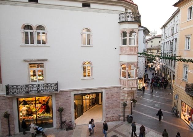 Eurospar presso il palazzo Nogarola-Guarienti -Trento