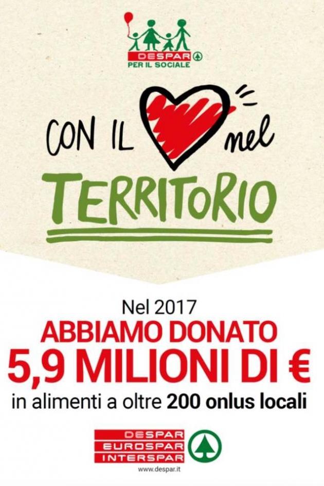 Nel 2017 abbiamo donato cibo per 5,9 milioni di euro!