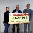 Abbiamo donato 3.500 euro all'Istituto Oncologico Romagnolo!
