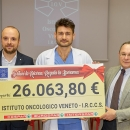 Da Despar, 26mila euro per l'Istituto Oncologico Veneto