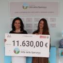 Despar dona 11.630 euro a Fondazione Città della Speranza