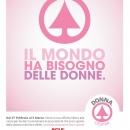 """""""Il mondo ha bisogno delle donne"""": raccolta fondi dal 27 febbraio al 5 marzo"""