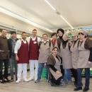 """Ex-dipendenti diventano imprenditori, e riaprono il """"loro"""" supermercato."""
