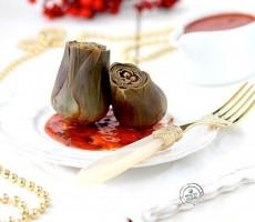 Carciofi in salsa aromatica