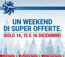 Un Weekend di Super Offerte