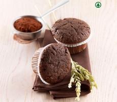 Muffin di riso, miglio e cioccolato