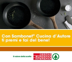 Con Sambonet® Cucina d'Autore ti premi e fai del bene!
