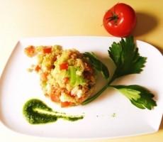Quinoa in panzanella