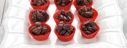 Pepite piccanti di cioccolato e mandorle