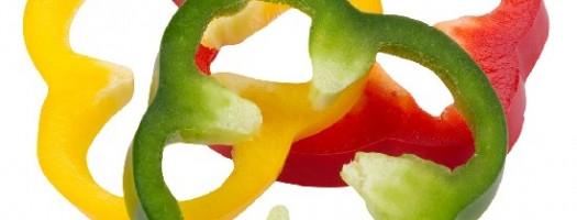 Fantasia di peperoni allo zenzero
