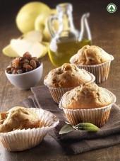 Muffin con uvette e mele all'olio EVO... Punti - 0