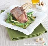 Carrè di agnello agli asparagi e pistacchi Punti - 0