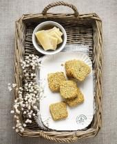 Biscotti salati al Parmigiano Punti - 0