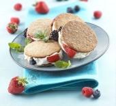 Biscotto gelato ai frutti di bosco Punti - 20