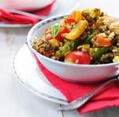 Cous cous con verdure e bocconcini di manzo speziati Punti - 0