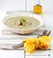 Crema di carciofi e finocchi con riso integrale Punti - 20