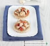 Crostini con tonno e pomodori secchi Punti - 0