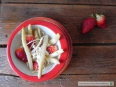 Insalata anti-cellulite di asparagi bianchi e fragole Punti - 0