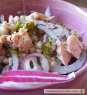Insalata d'orzo con tonno, cipolla di Tropea e pistacchi Punti - 20