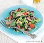 Insalata misticanza con tonno, fagioli, cipolla e pomodorini Punti - 0