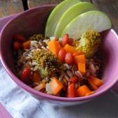 Insalata di farro con bacche di Goji, broccoli e mela verde Punti - 20