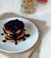Pancakes al muesli di farro con uvetta e composta di mirtilli Punti - 20