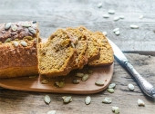 Pane di farro e segale con zucca e noci Punti - 20