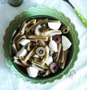 Caserecce di farro integrale con pesto, olive verdi, capperi e mozzarella Punti - 20