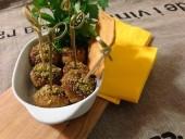 Bocconcini di carne alle mandorle e pistacchi Punti - 0