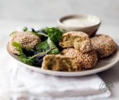 Polpettine speziate di lenticchie e ceci con crosta al sesamo Punti - 20