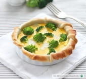 Mini quiches con broccoli e Montasio Punti - 0