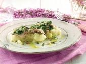 Sgombro al forno con rucola e mandorle su passatina di patate novelle Punti - 20
