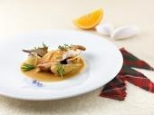 Sovracoscia di cappone e salsa all'arancio Punti - 0