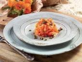 Tagliatelle di carote piccanti con alici e capperi Punti - 0