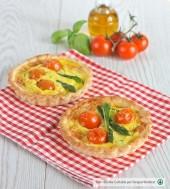 Tartellette con asparagi e pomodorini Punti - 0