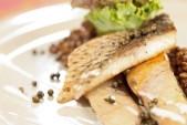 Filetti di triglia al timo con crema di lenticchie Punti - 20