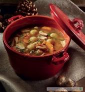 Zuppa di castagne, funghi porcini e zucca Punti - 0