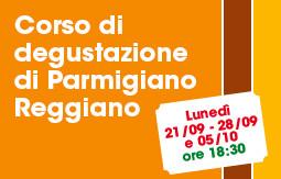 Corso di degustazione di Parmigiano Reggiano
