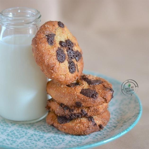 Biscotti gluten free all'arancia e cioccolato