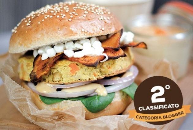 Hamburger di ceci, farro e quinoa