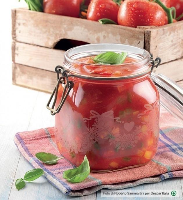 Salsa di pomodoro e verdure