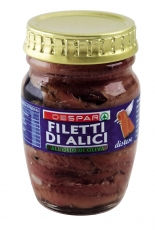 Filetti di Alici Distese