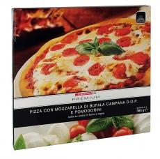 Pizza mit Büffelmozzarella g.U.