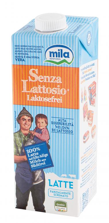 LATTE UHT PARZIALMENTE SCREMATO SENZA LATTOSIO