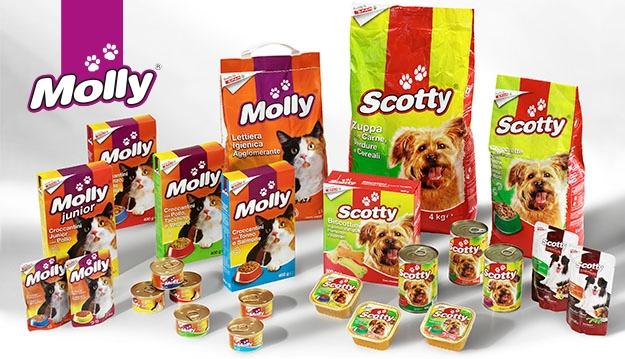<p><strong>Erobern Sie die Freundschaft Ihrer Katze mit den unwiderstehlichen K&ouml;stlichkeiten von Molly.</strong> Sie werden &uuml;berrascht sein, Ihren Stubentiger den Leckereien von Molly hinterherjagen zu sehen: Trocken- und Nassfutter, erg&auml;nzt mit Vitaminen und frei von Konservierungs- und Farbstoffen, aber vor allem mit der Qualit&auml;t und dem Top-Preis von Despar.</p>