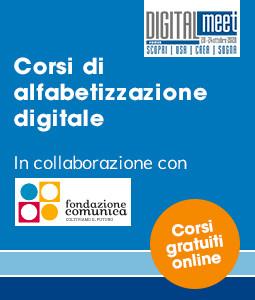 Corsi gratuiti online di Alfabetizzazione Digitale dal 2 novembre al 16 dicembre
