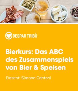 Bierkurs: Das ABC des Zusammenspiels von Bier & Speisen